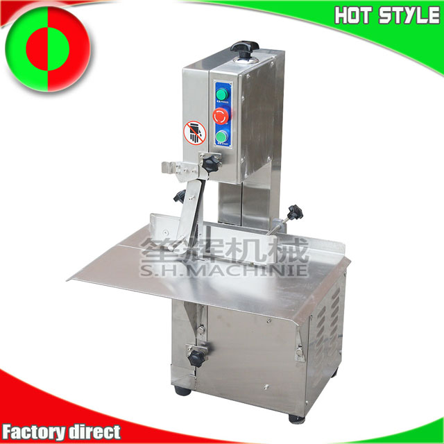 Chicken meat bone cutting machine