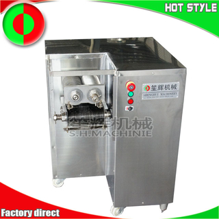 Meat shredder cutting machine