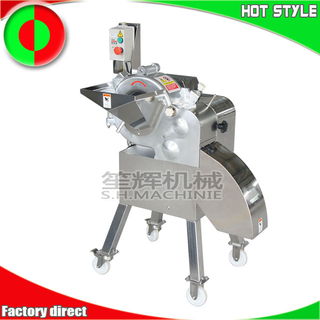 Electric vegetable fruit chopper dicer machine