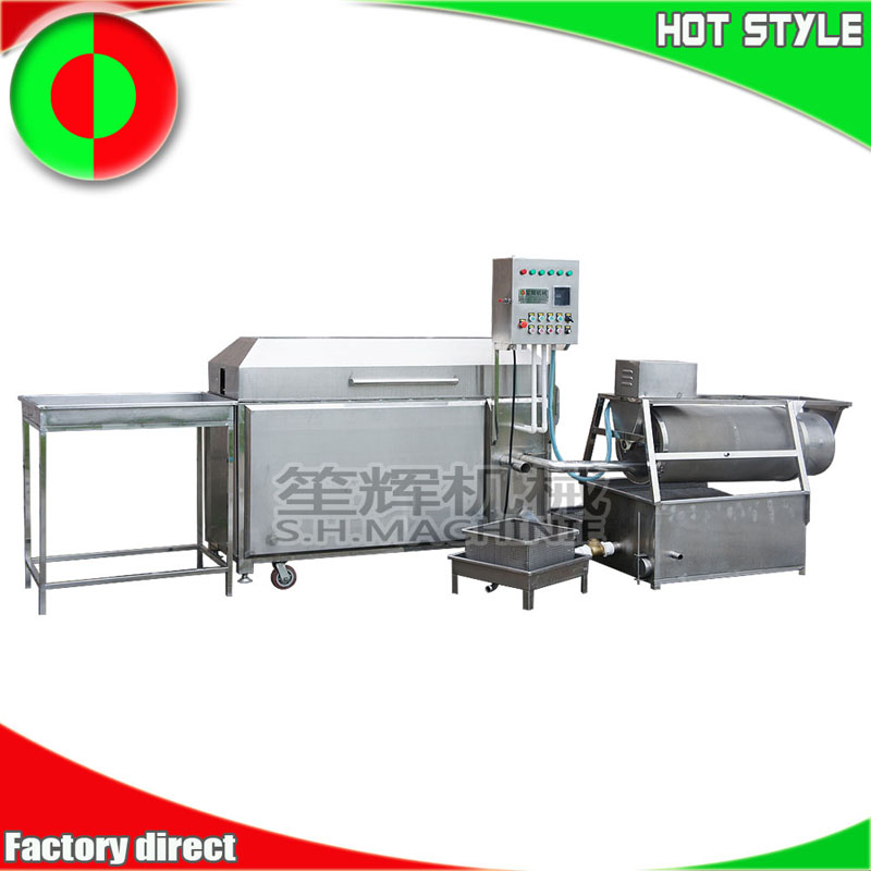 Tilapia fish processing line open fish maw remove fish scales remove internal organs equipment