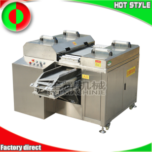 Large oblique fish fillet machine meat cutting machine