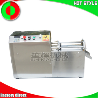 Small desktop vegetable cutting machine fruit cutter potatoes taro carrot slitting machine