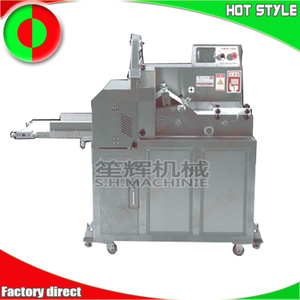 Frozen meat dicing machine
