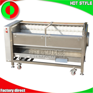 Stainless steel fruit vegetable peeler machine